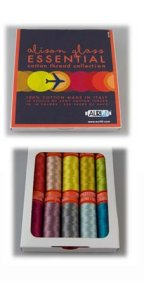 Aurifil Thread Essential Collection Small Spools by Alison Glass AG50E10