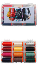 Aurifil Me + You Collection 12 Large Spools Aaron Hoffman AH50MY12