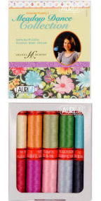 Aurifil Meadow Dance Collection 10 Small Spools Amanda Murphy AM50MC10