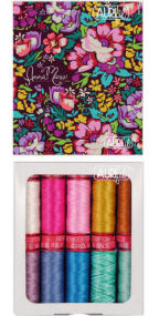 Aurifil Stitch Gallery Collection 10 Small Spools Anna Maria Horner AMH12SGSB10