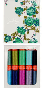 Aurifil Cool and Collected Collection 10 Small Spools Anna Maria Horner AMH50CCSB10