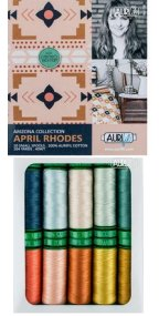 Aurifil Arizona Collection From April Rhodes 10 Small Spools AR40AC10