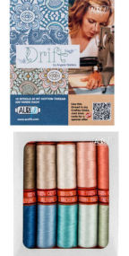 Aurifil Drift Collection 10 Small Spools Angela Waters AW50DR10