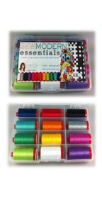 Aurifil Thread Sew Modern Essentials 12wt by Angela Yosten AY12SM12