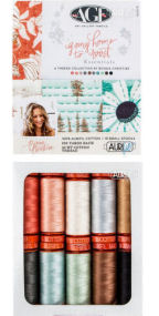 Aurifil Going Home To Roost Collection 10 Small Spools Bonnie Christine BC50HR10
