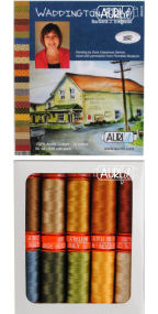 Aurifil Waddington Road Collection From Barbara Eikmeier 10 Small Spools BE50WR10