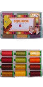 Aurifil Equinox Collection From 4th & 6th Design 12 Large Spools BP40EC12