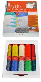Aurifil 10 Small Spools Cotton 50wt Botanics by Carolyn Friedlander