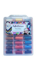 Aurifil Dotalicious Valigia Collection From Claudia Pfeil 48 Large Spools CP50DC48