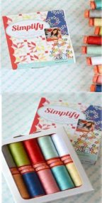 Aurifil Thread Simplify by Camille Roskelley CR50SK10