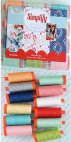 Aurifil Thread Simplify Large Spools by Camille Roskelley CR50SK12