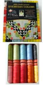Aurifil Everyday Colors Set 10 Small 50wt Sp By Jill Finley EC50JF10