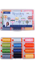 Aurifil Up and Away Collection From Emily Herrick 12 Large Spools EH50UA12