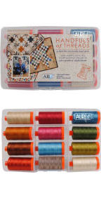 Aurifil Handfuls of Threads Collection From Edyta Sitar 12 Large Spools ES50HT12
