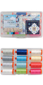 Aurifil Everyday Escape Collection From Franny & Jane 12 Large Spools FJ50EE12