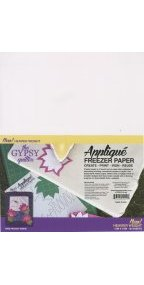 Gypsy Quilter Applique Freezer Paper 12in x 15in