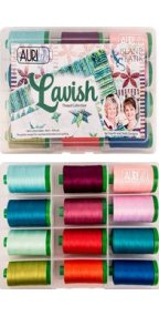 Aurifil Lavish Collection From 4th & 6th Design 12 Large Spools FSD40LC12