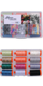 Aurifil 2017 Hoffman Challenge Collection From Hoffman Fabrics 12 Large Spools HF5017HC12