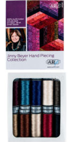 Aurifil Jinny Beyer Hand Piecing  Collection 10 Small Spools Jinny Beyer JB28HP10