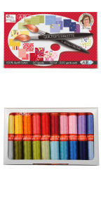 Aurifil Quilters Palette Collection 20 Small Spools Jill Finley JF50QP20