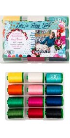 Aurifil Fancy Treads Collection From Jennifer Paganelli 12 Large Spools JP40FT12