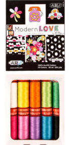 Aurifil Modern Love Collection 10 Small Spools LizzieB Cr8ive LB50ML10