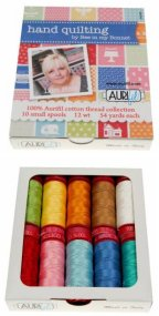 Aurifil Hand Quilting Collection From Bee in my Bonnet 10 Small Spools LH12HQ10