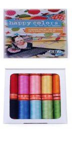 Aurifil Thread Happy Color Small 50wt Sp By Lori Holt LH50HC10