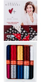 Aurifil Small Wonders Collection From Mary Fons 10 Small Spools MF50SW10