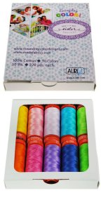 Aurifil 10 Small Sp 50wt Everyday Color by Me and My Sister Designs