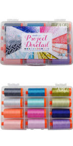 Aurifil Project Dovetail Collection From Michael Miller Fabrics 12 Large Spools MMH50PD12