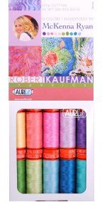 Aurifil Tropical Box Collection From McKenna Ryan 10 Small Spools MR50TB10