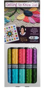 Aurifil Getting to Know Hue Collection From Nancy Rink 10 Small Spools NR28GKH10