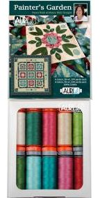 Aurifil Painters Garden Collection by Nancy Rink Cotton 50wt 28wt 10 Small Spools NR5028PG10