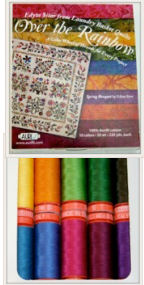 Aurifil Edyta Sitar Over the Rainbow 50wt Cotton Thread Collection ORES1050S