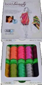 Aurifil Bold Beauty Kit 10 Small 40wt Cotton Spools By Pat Bravo PB40BB10
