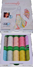 Aurifil Eye Candy Collection 10 Small 40wt Sp By Pat Bravo PB40EC10