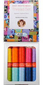 Aurifil East Meets West Collection From Patricia Belyea 10 Small Spools PB50EMW10