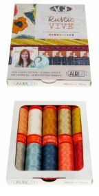 Aurifil Rustic Vive Collection From Pat Bravo 10 Small Spools PB50RV10