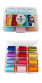 Aurifil Thread Perfect Box of Solids by Pat Sloan PSCB5012