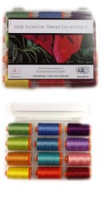 Aurifil Thread SAQA II Signature Thread Collection by Pat Sloan SASN50K12