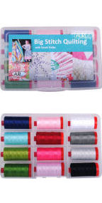 Aurifil Big Stitch Collection From Sarah Fielke 12 Large Spools SF12BSQ12