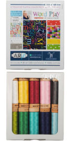 Aurifil Wordplay Collection From Sarah Fielke 10 Small Spools SF80WC10