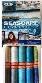 Aurifil Seascape Collection 10 Small 50wt Cotton Spools By Sheena Norquay SN50SC10