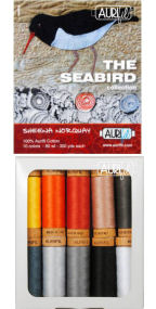 Aurifil Seabird Collection From Sheena Norquay 10 Small Spools SN80SC10