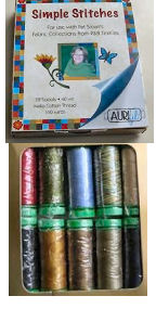 Aurifil Simple Stitches Set 10 Small 40wt Cotton Spools By Pat Sloan SSK4010