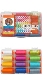 Aurifil Foundation Collection From Shayla Wolf 12 Large Spools SW50FC12