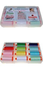 Aurifil Little Sweetness Collection 12 Large 50wt Cotton Spools by Tasha Joel TN50LS12