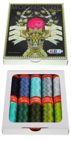 Aurifil 10 Small Sp 50wt Moonshine Meadow by Tula Pink