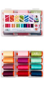 Aurifil Simply Colorful Collection From Vanessa Christenson 12 Large Spools VC50SCB12